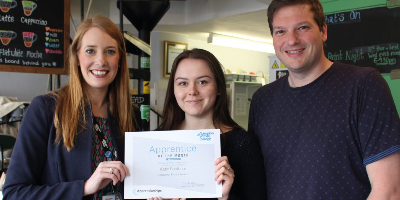 Apprentice of the Month, March 2019: Katie Southern