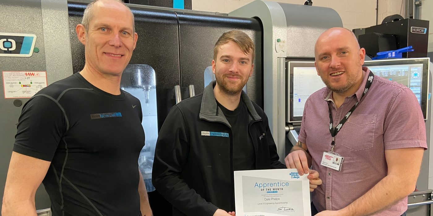 Apprentice of the Month, December 2019: Dale Phelps