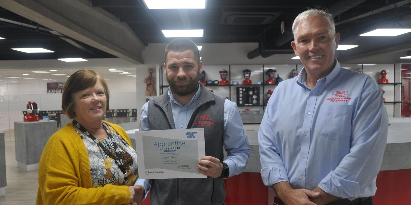 Apprentice of the Month, October 2019: Jason Dean